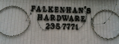 Falkenhan's hardware - 3401 Chestnut Avenue Stop here for all your hardware needs Turn right and right again and head north on chestnut