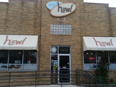 Howl - 3531 Chestnut Avenue Stop here for healthy pet food, supplies, and toys Turn right