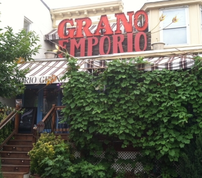 Grano Emporio - 3547 Chestnut Avenue Stop here for Italianfood and a wonderful porch Turn right