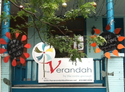 The Verandah - 842 W 36th Street Stop here for amazing indian street food, so good Turn right