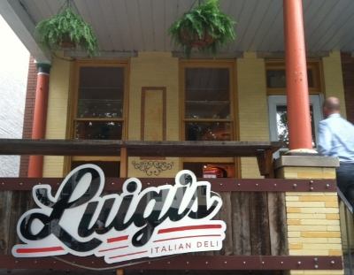 Luigi's Deli - 846 W 36th Street Stop here for Italian sandwiches and paninis Turn right
