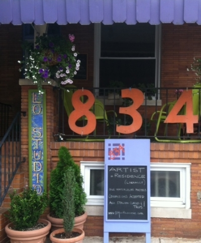 834 On The Avenue - 834 W 36th Street Stop here for gallery shows and Italian lessons Turn right