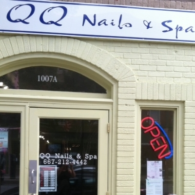 QQ Nails & Spa - 1007 W 36th Street Stop here for a manicure or/ and pedicure Turn right