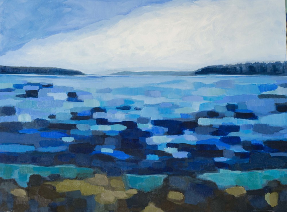Leaving Isle au Haut (SOLD)