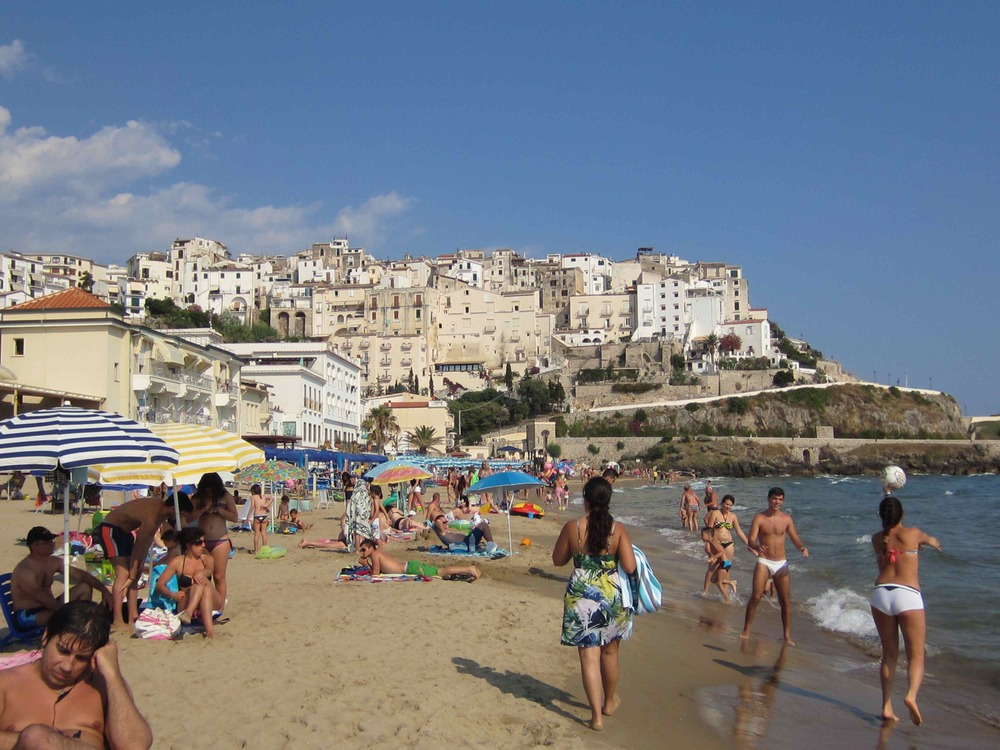SPERLONGA BEACH  Sperlonga is one of Italy's finest beaches.