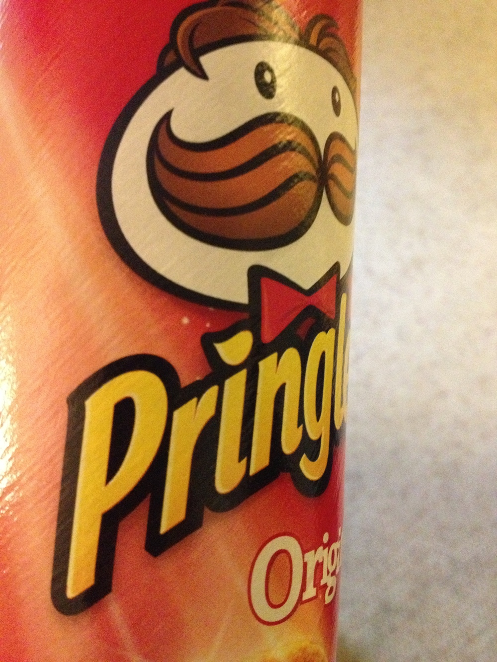 Had some Pringles too. Have to have something you enjoy when carb-loading.