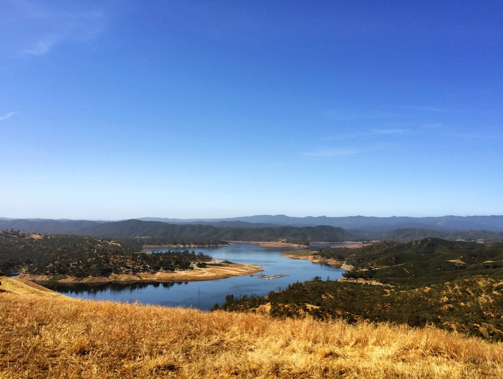 Lake Nacimiento. Starting to fill back up.