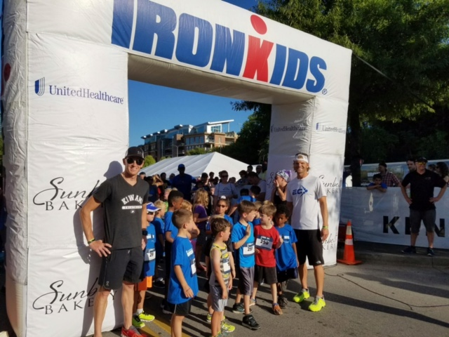 Made it out to the Ironkids race on Thursday evening. Always a blast.