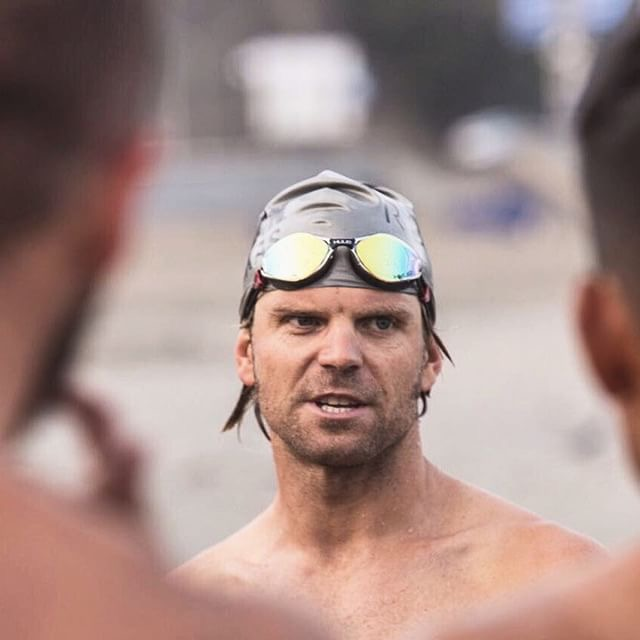 Post pre-race swim in Peru. Photo: Robert Zamalloa