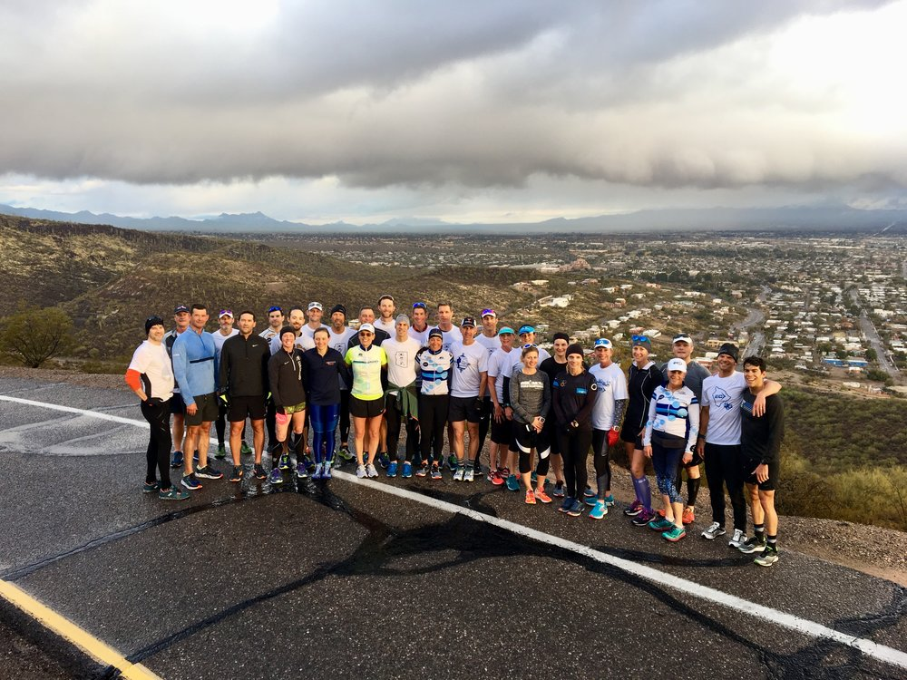 Not from the race, but every year prior to Ironman Texas, I have been at the Endurance Corner Tucson Camp. This year's camp had a ton of folks racing IMTX and it was great to share in some of their preparation.