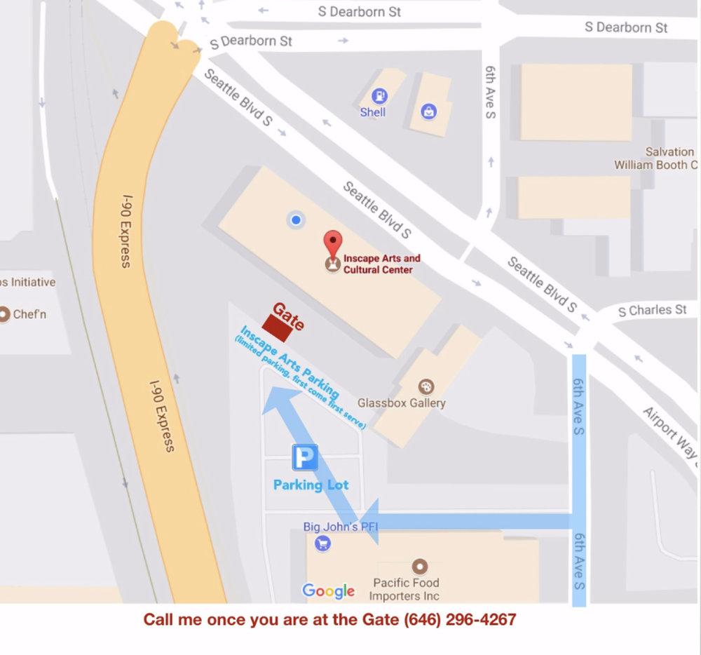 Studio address: - Dominique Medici fine artInscape Arts and Cultural Center815 Seattle Blvd S,Studio 207Seattle, WA 98134