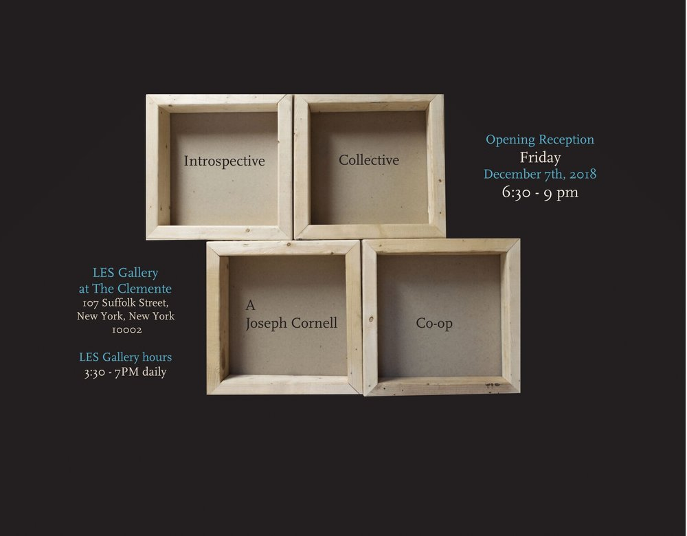 Introspective Collective: A Joseph Cornell Co-op