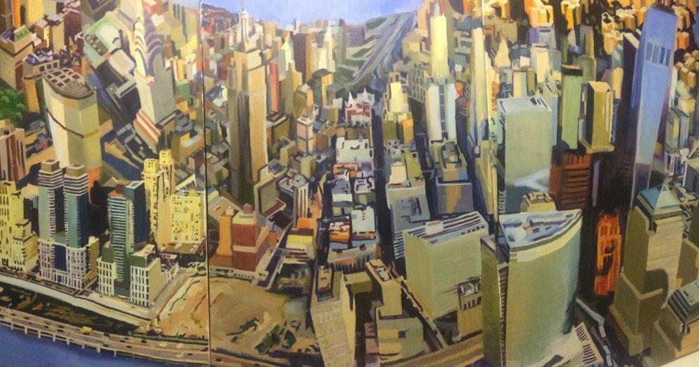 Aerial Manhattan