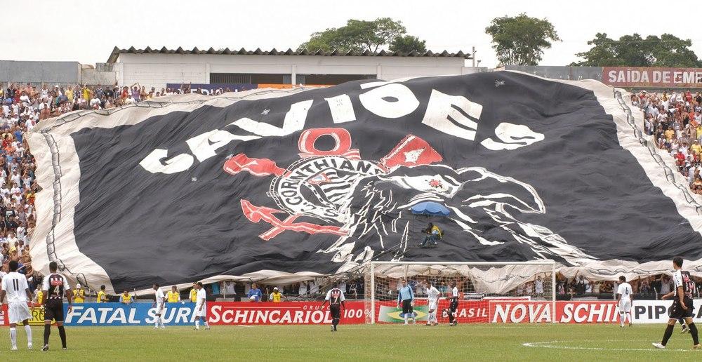 Corinthians - bandeira da Gaviões da Fiel (1).JPG