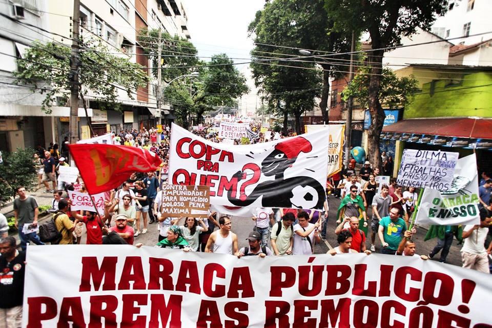 Popular Commite Protest in Rio