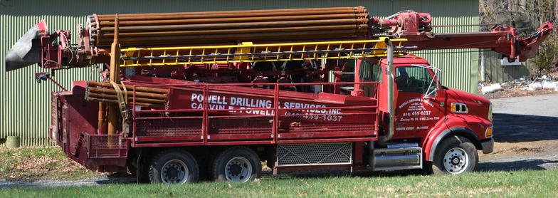 Calvin E. Powell Drilling & Services, Inc. Well Rig