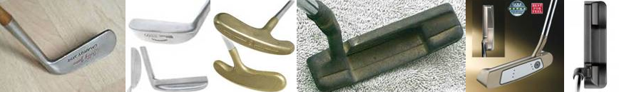 Tools of touch: Do you need a large headed, counter balanced putter with lines all over it to putt well? You may recognize some of these putters as they have been/are used by some of the best putters in history.