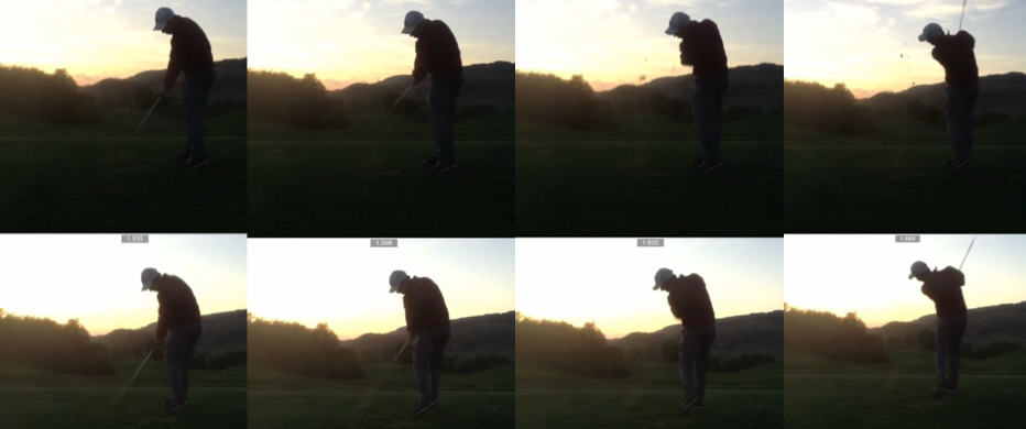 This player's swing changed in just five swings after he was given a new club with different specifications. NO instruction was provided.