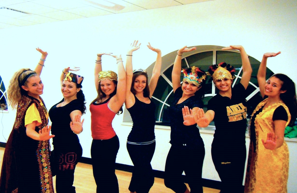 Adelphi University's Dance Team, 2011