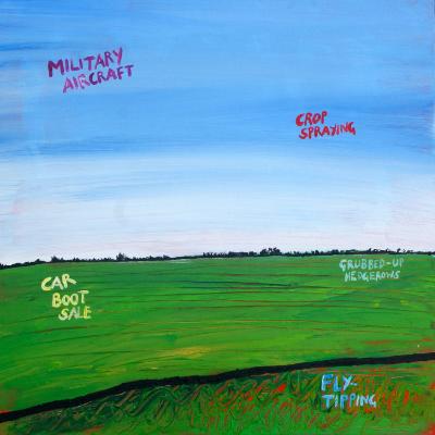 Tim Bradford,Lincolnshire Landscape Painting