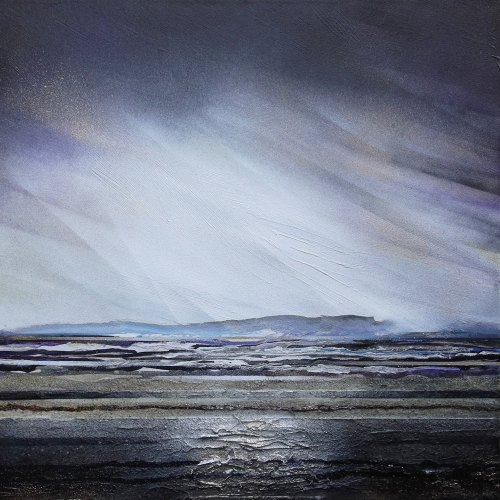 Mike Bell,  Storm Over Druridge bay 1