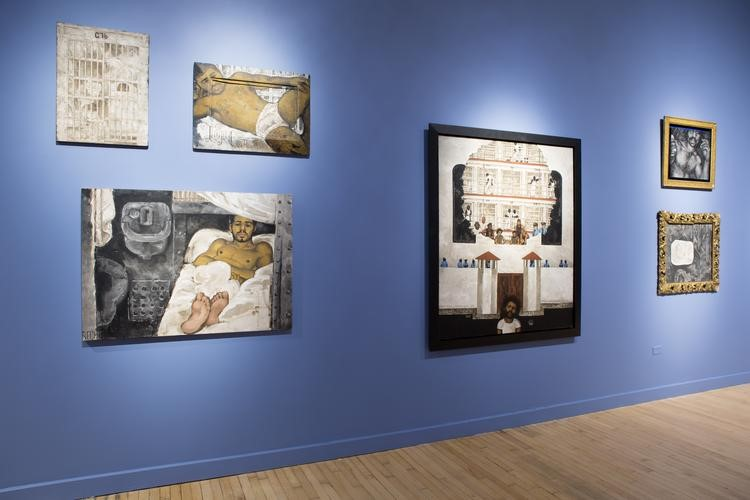 Installation view of Martin Wong: Human Instamatic Photo credit: Joel Greenberg
