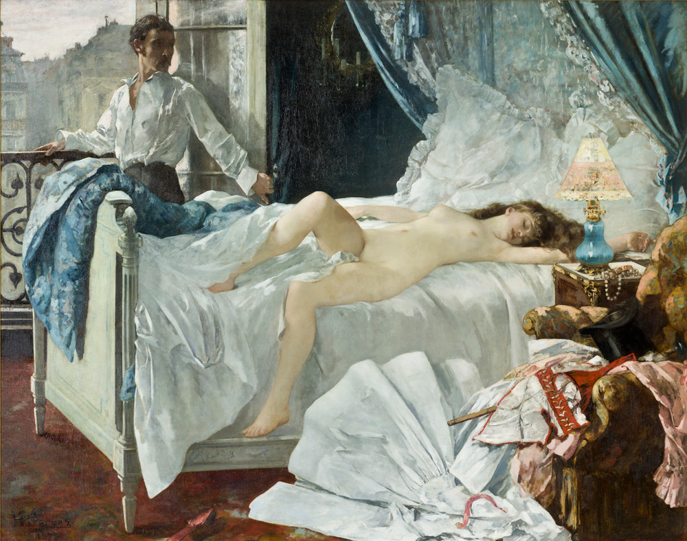 Henri Gervex,  Rolla , 1878, oil on canvas.