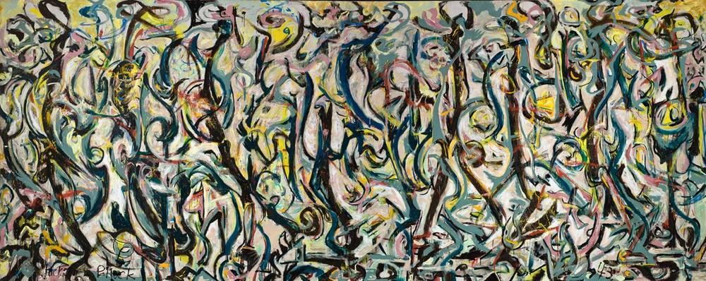 Jackson Pollock: Mural, 1943 © Pollock-Krasner Foundation/ VG Bild-Kunst, Bonn 2015