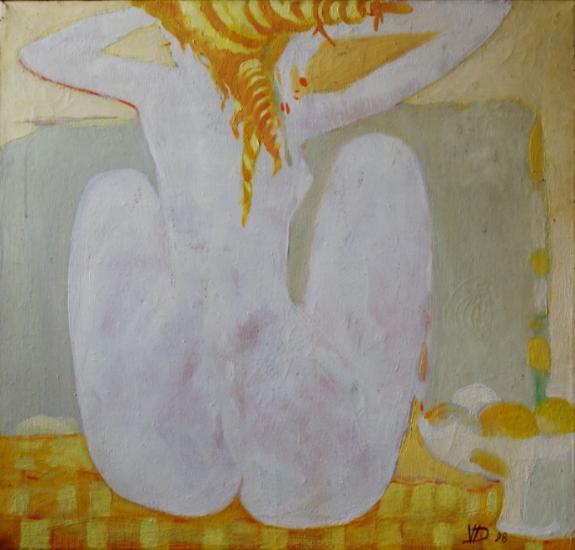 Nude Redhead by Vasile Dohotaru