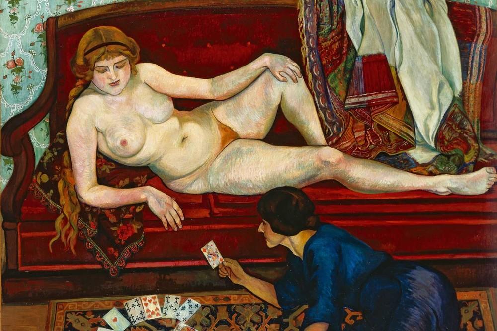 Suzanne Valadon, La tireuse de cartes, 1912, Association des amis du Petit Palais, Genève © Petit Palais, Genève