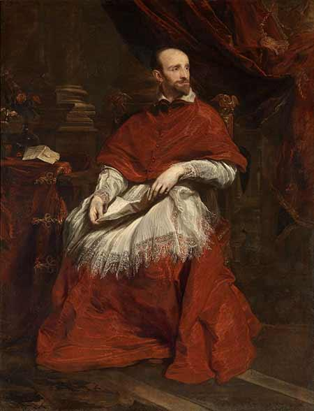Van Dyck – Cardinal Guido Bentivoglio (1623)