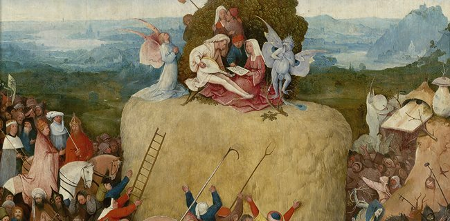Jheronimusch Bosch, De Hooiwagen (1515)Serrano Uncensored