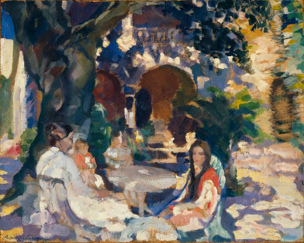 Em Casa dos Condes de Valença, Albert Jourdain (1891-1978)
