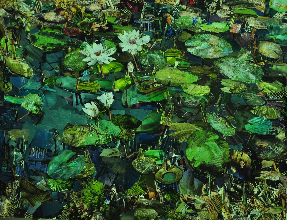 SUKANTA DASGUPTA, Water Lily. £1,050.