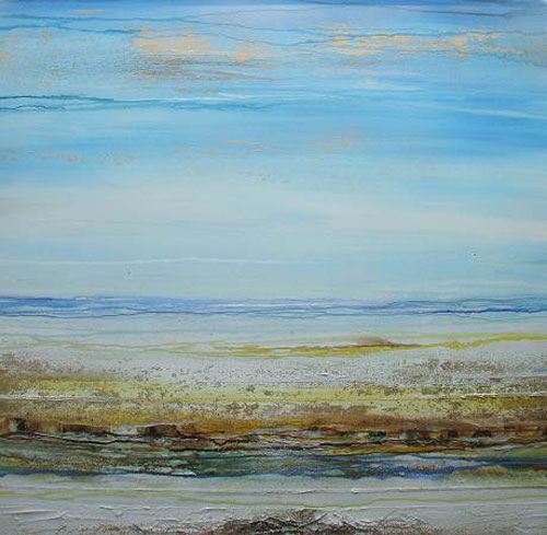 MIKE BELL, Hauxley haven Rhythms Textures & Driftwood No 4