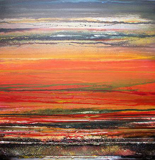 MIKE BELL, Druridge Bay Sunset Rhythms & Textures VI