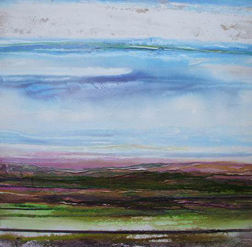 MIKE BELL, Heather on The Beacon Redesdale