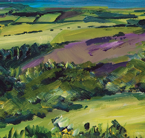 CHRIS PERRETT, View from Hardy's monument