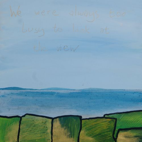 TIM BRADFORD, We Were Always Too Busy To Look At The View