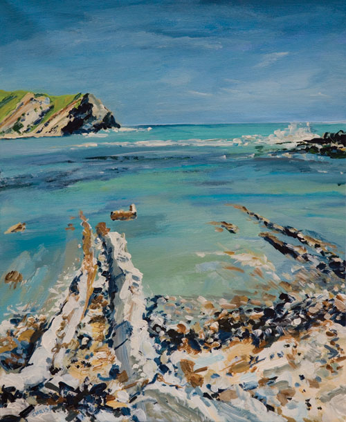 CHRIS PERRETT, Lulworth Cove 5