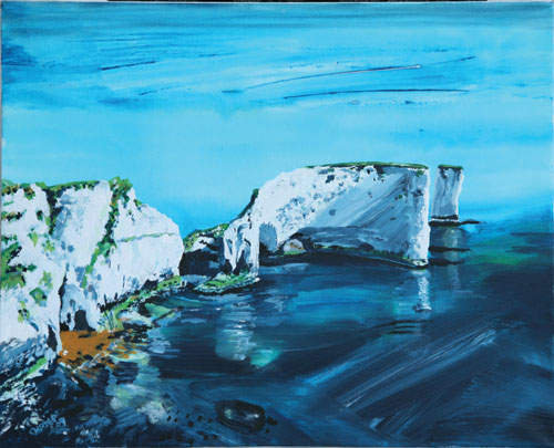 CHRIS PERRETT, Old Harry's Rock