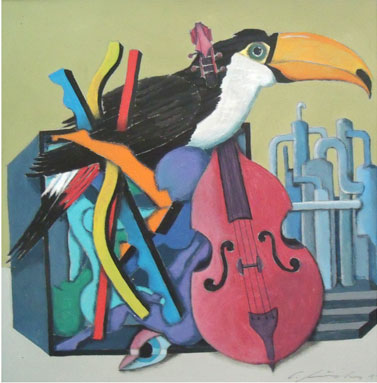GUNTER JUNGHANS, The artistic toucan