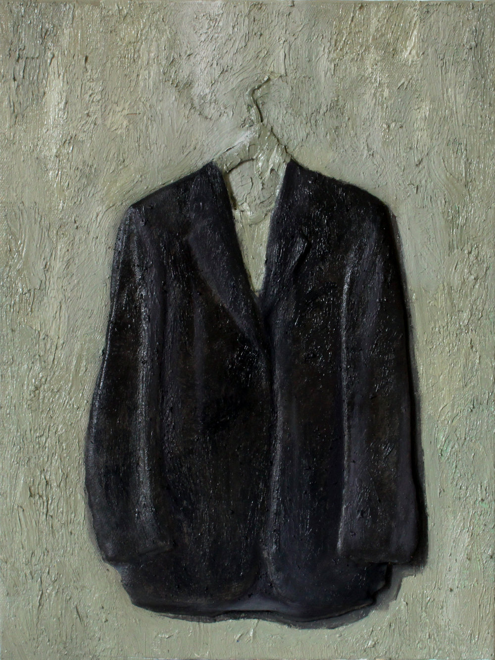 GUIDO SALIMBENI, Jacket Grey on Green