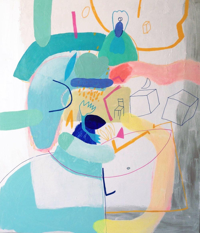 PERSEFI ESKES, Dreamy Conversation 2
