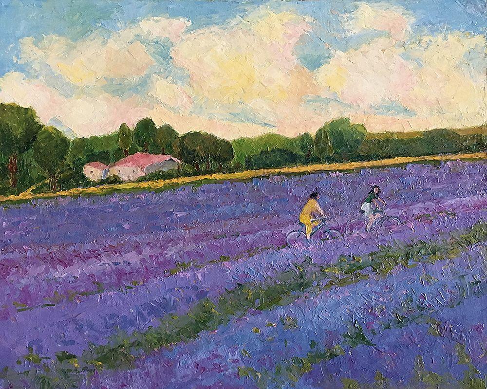 PADMAJA MADHU, Whiff of Lavender. £130.