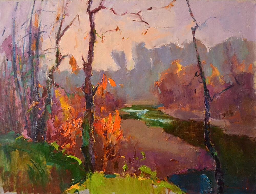 ALEXANDER SHANDOR, Waining Autumn. £850.