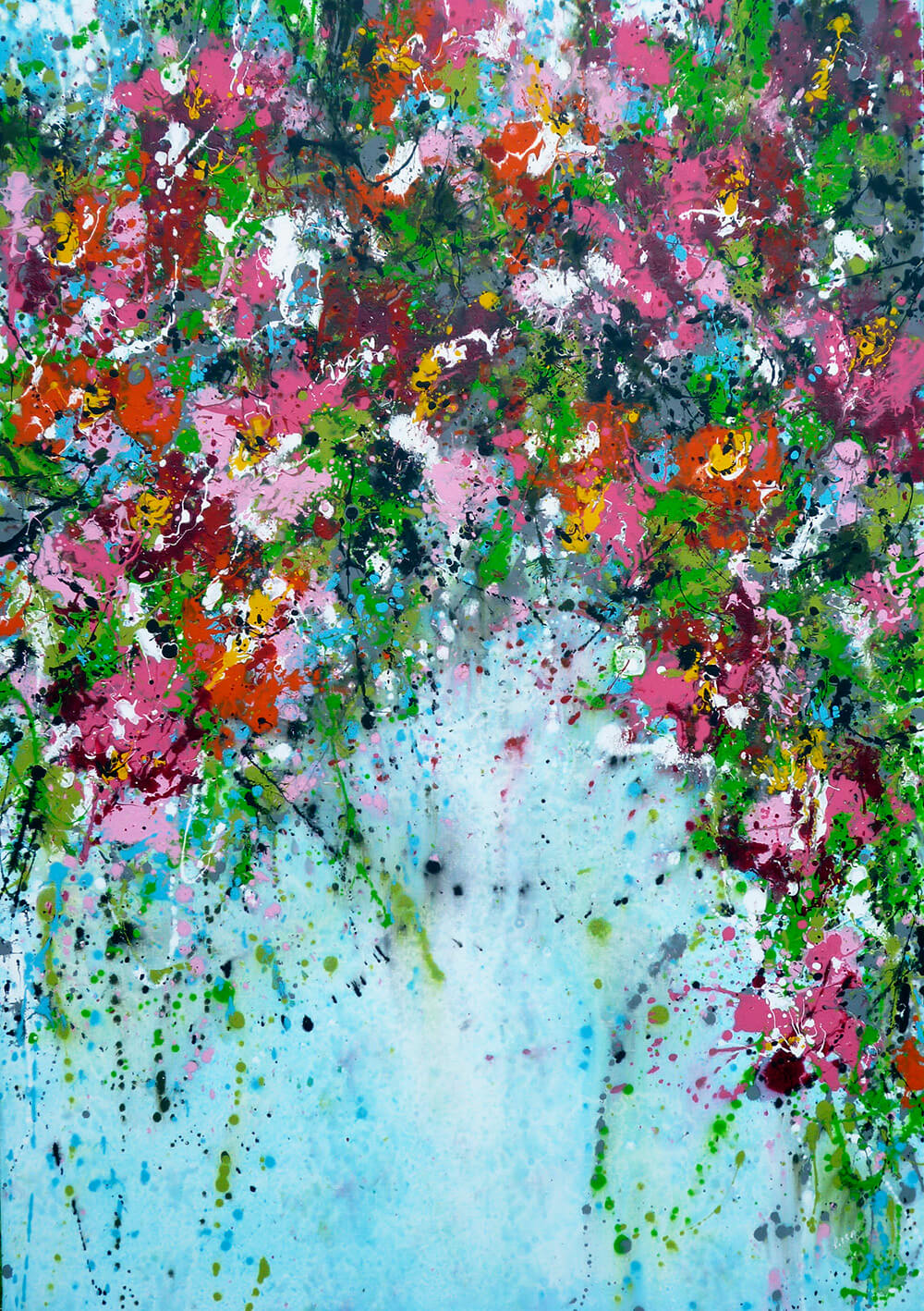 ISABELLE PELLETANE, Garden In The Sky. £1,750.