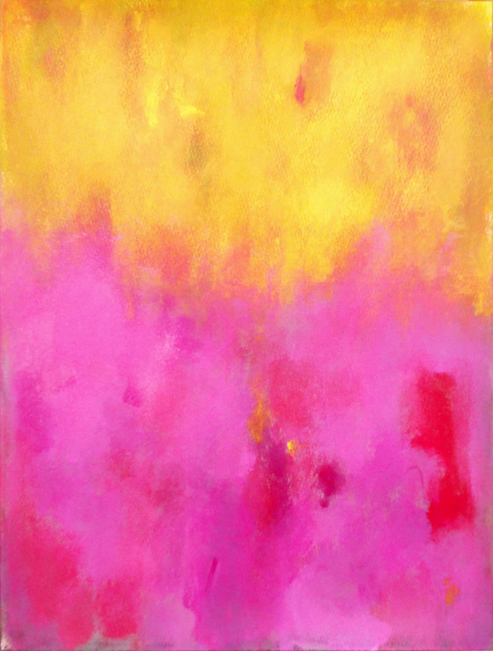 LUIS MEDINA MANSO, Pink Against Yellow