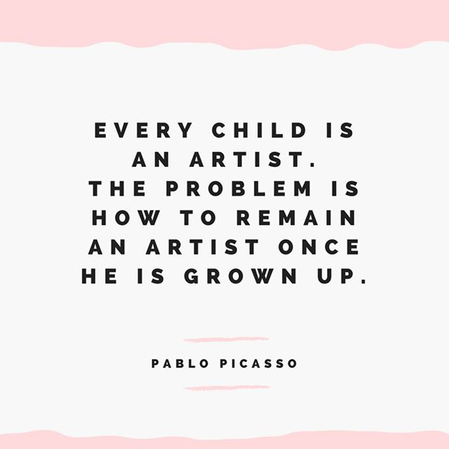 #Quote by Pablo Picasso.