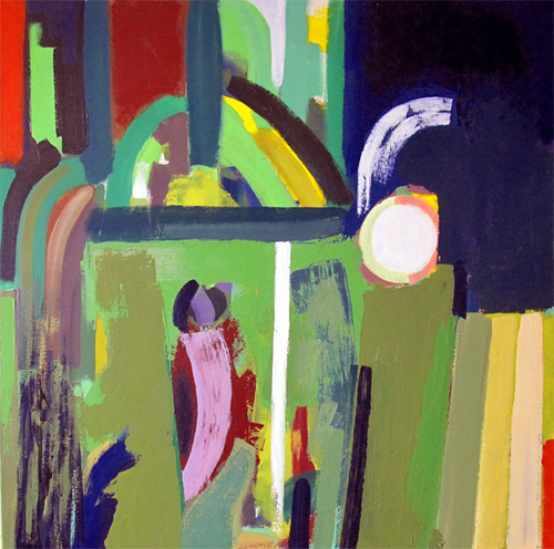 JAMES DEVLIN, Midnight #Painting, #abstractart  100(w) x 100(h) cm  39.38(w) x 39.38(h) inches
